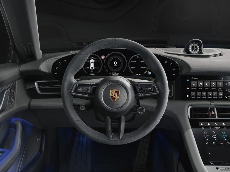 Interior Porsche Taycan 4S