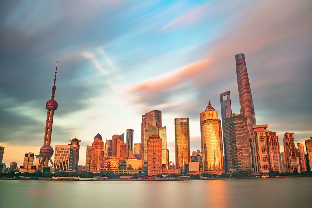 shanghai skyline 2