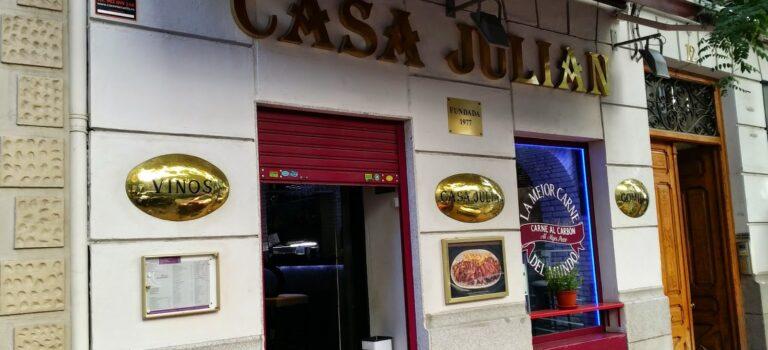 Casa Julián, specializing in grilled meats