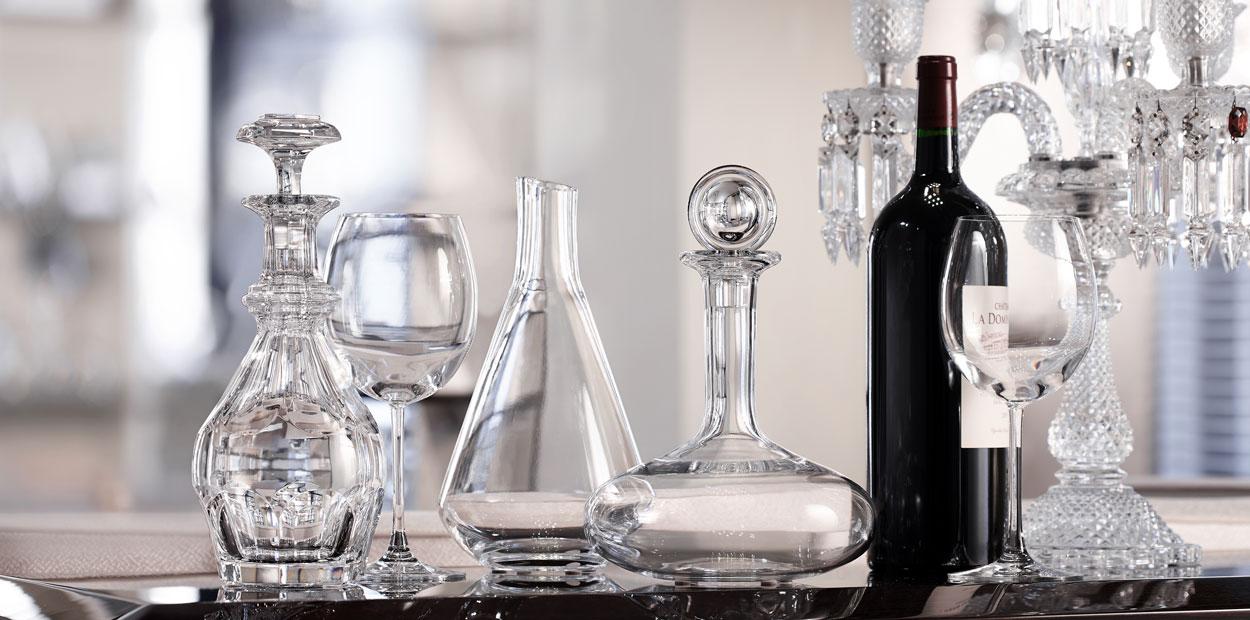 La elegancia de la cristalería e iluminación francesa Baccarat