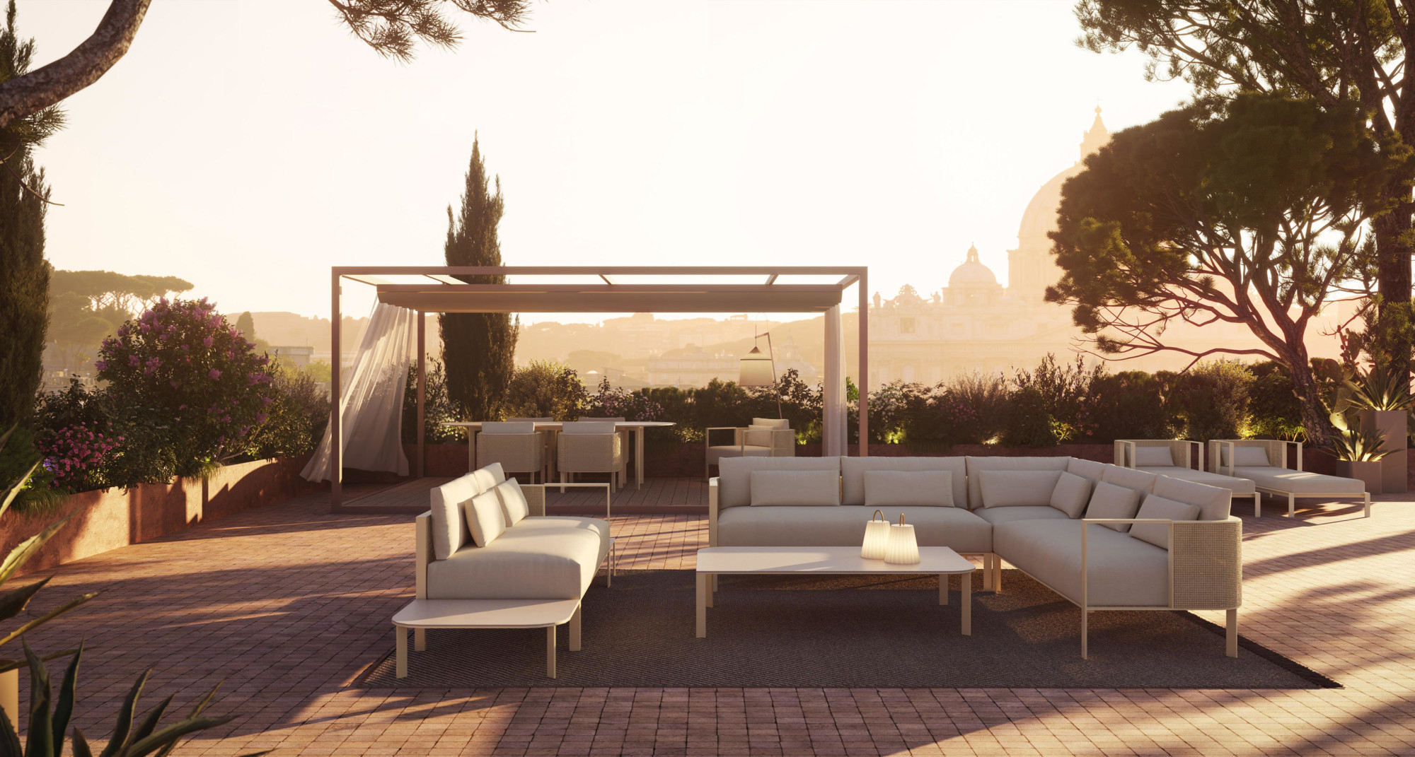 Gunni & Trentino nos trae las novedades en mobiliario de diseño para exteriores